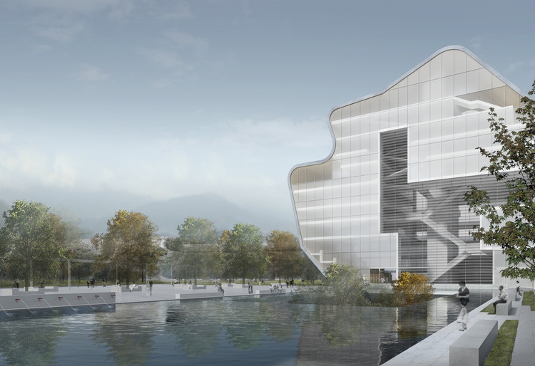 Steven holl architects unveil proposal for shenzhen art for Architecture 00