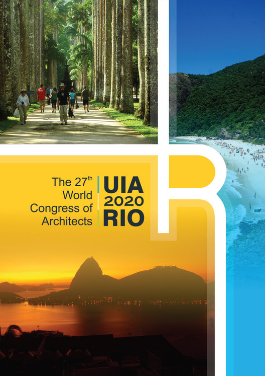IAB lança concurso para escolher marca do Congresso UIA 2020 RIO, Cortesia de IAB