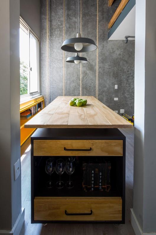Loft / Studio R, © Pedro Napolitano Prata