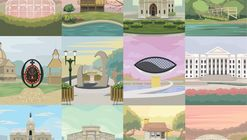 Arte e Arquitetura: Posters de Curitiba por Maycon Prasniewski