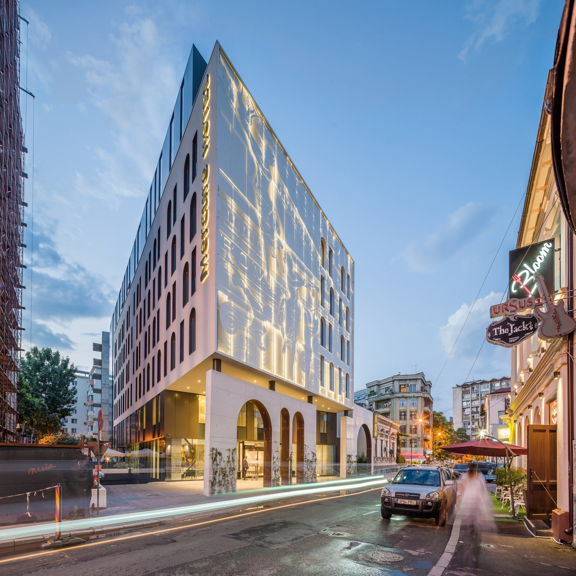 Hotel Mercure In Bucharest Arhi Group Archdaily
