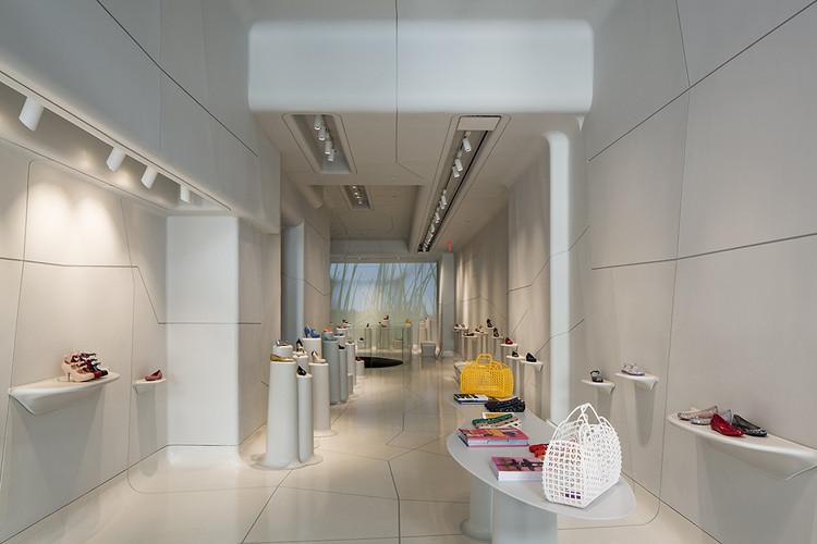 Galeria Melissa / Pascali Semerdjian Arquitetos + Edson Matsuo, © Leonardo Finotti