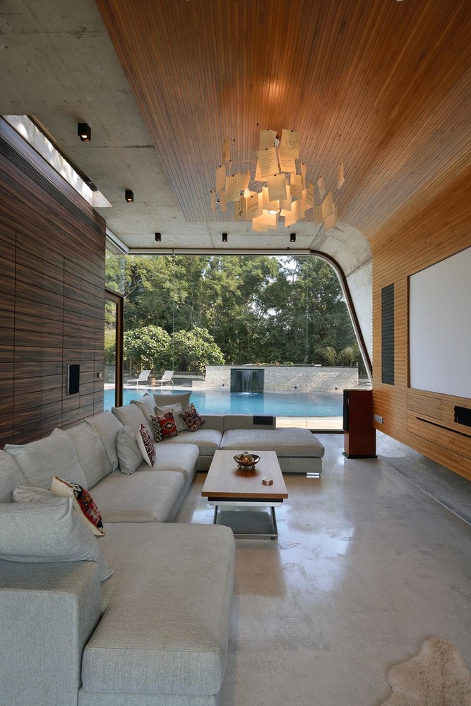 Pool House,© Ravi Kanade