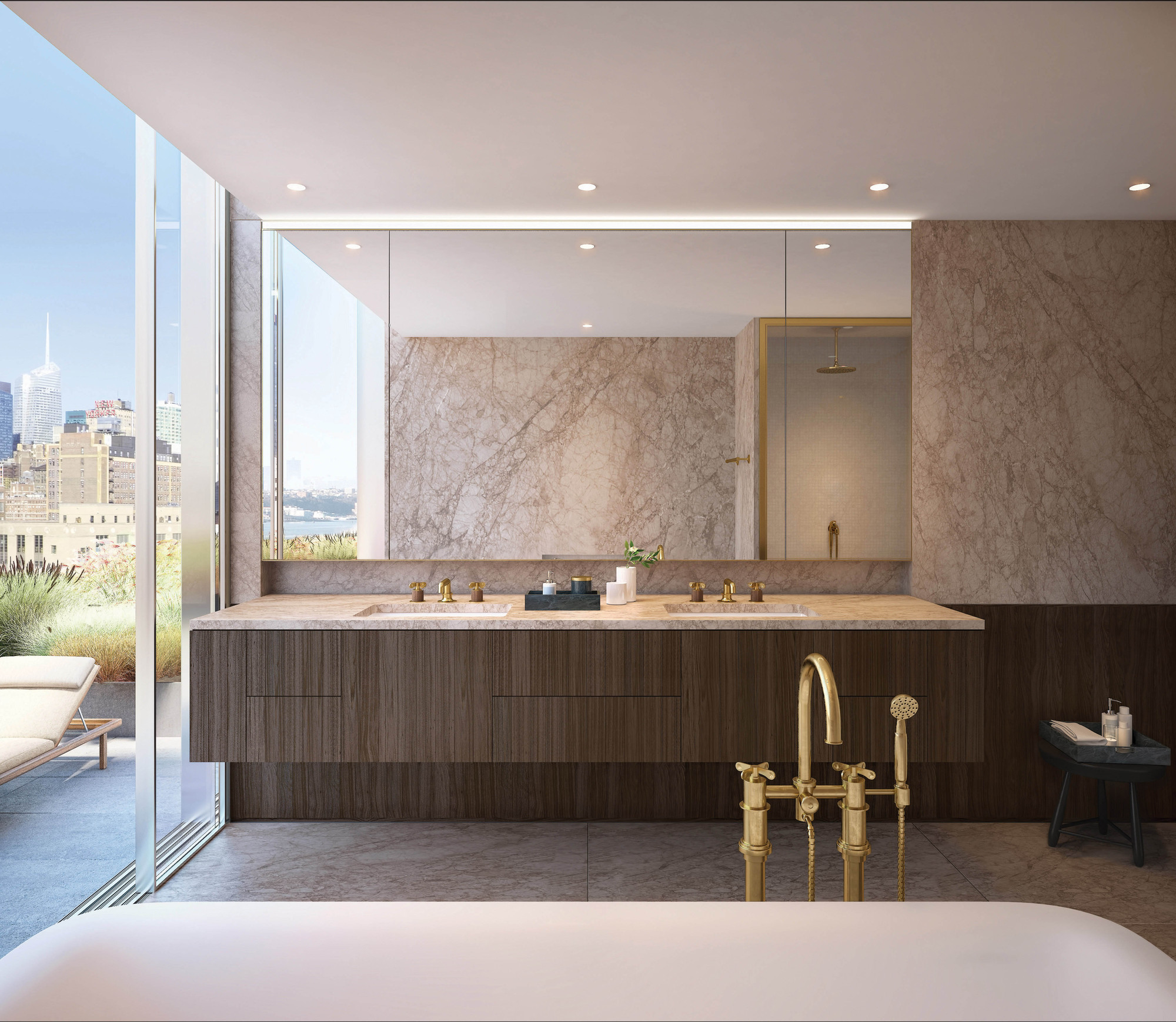 Trump Tower Apartments Gallery Of Isay Weinfeld Unveils The Design For His First