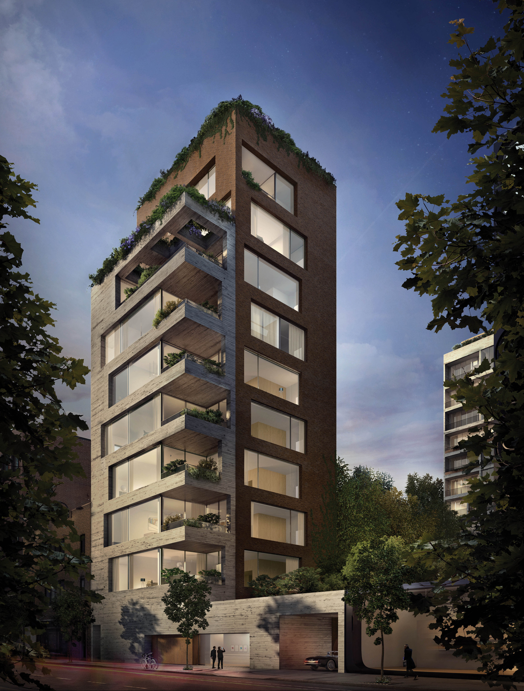 apartment building design. Isay Weinfeld Unveils The Design For His First Project In New York City Apartment Building S