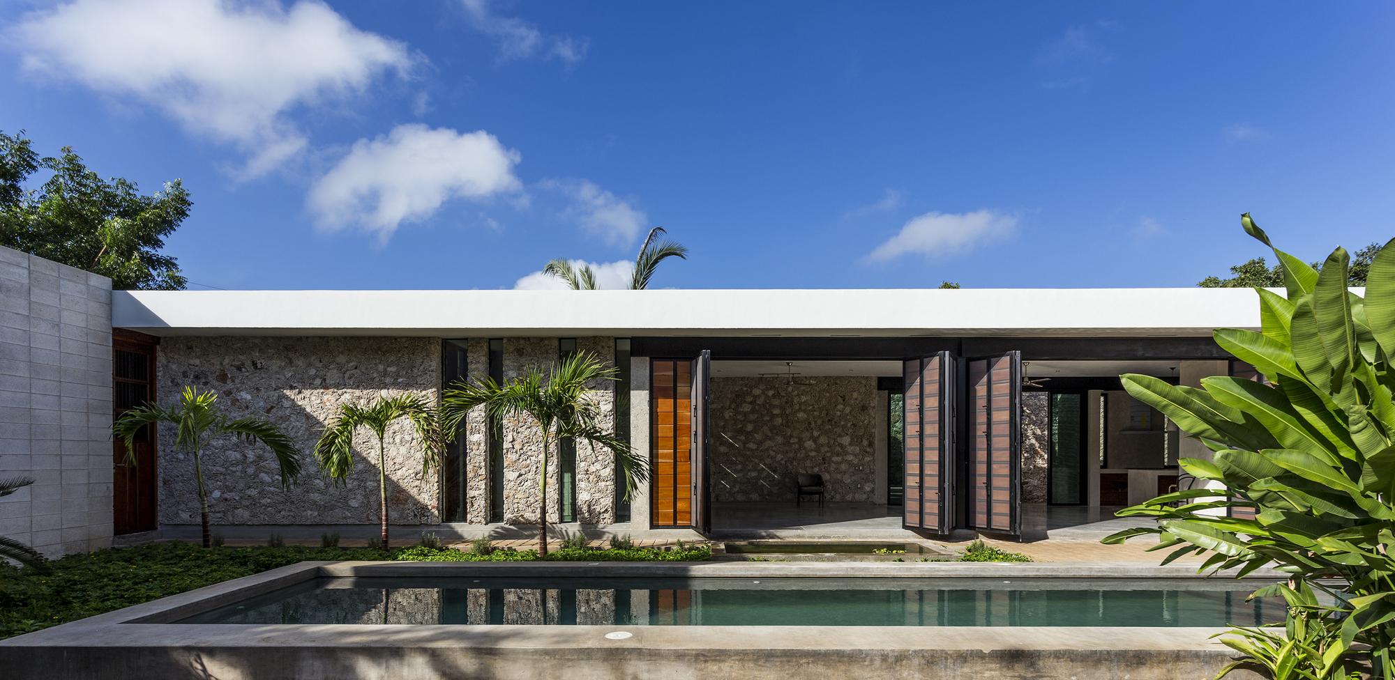 Casa ja cholul taller estilo arquitectura plataforma for Estilos de casas arquitectura