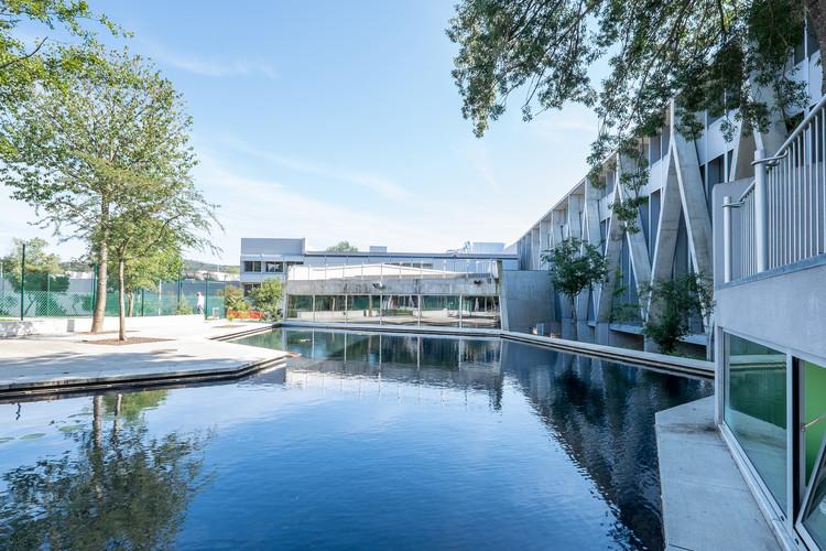 Barcelos Secondary School / Cerejeira Fontes Architects, © Benjamin Alstrup Velure