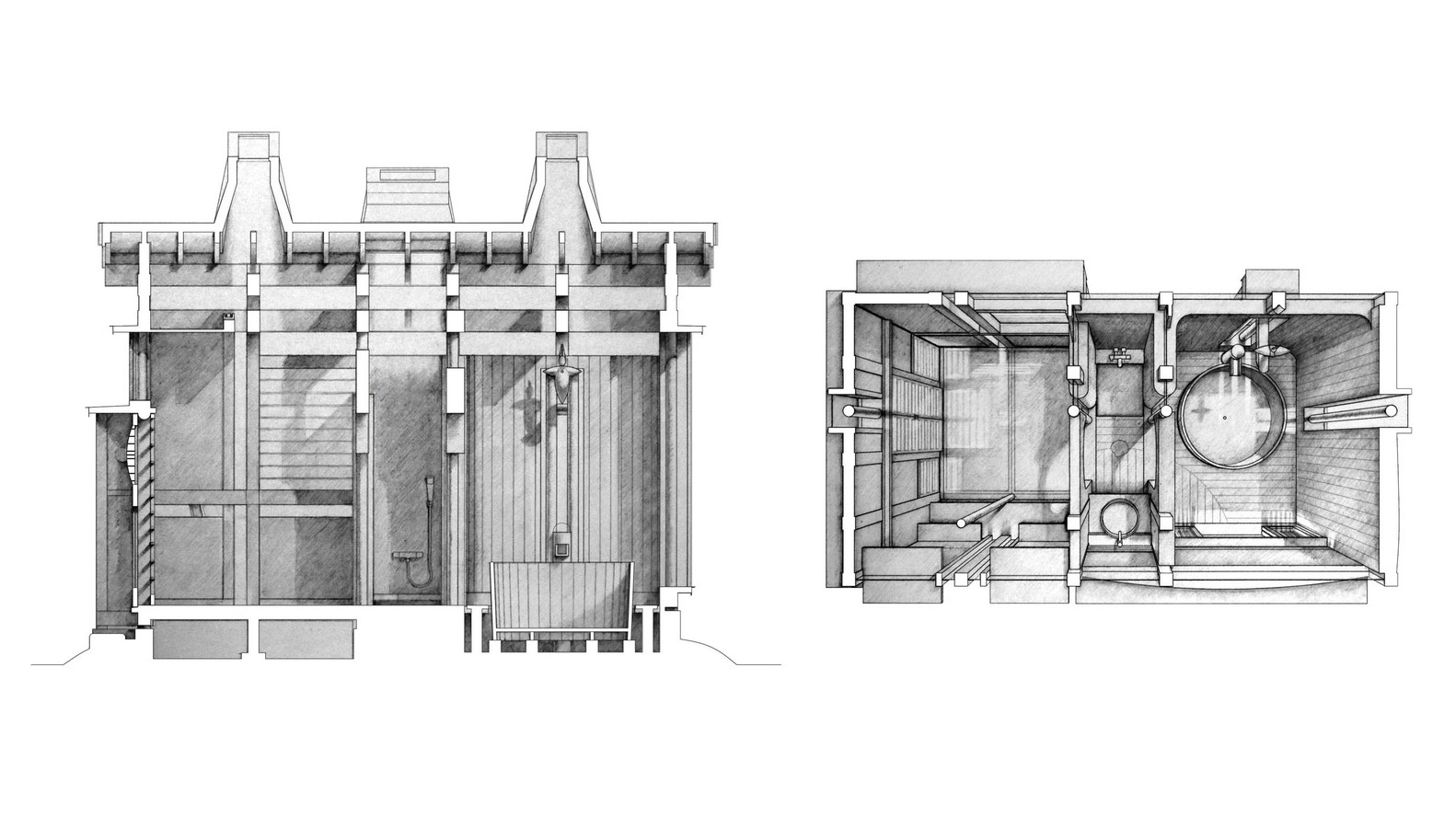 Gallery Of The Best Architecture Drawings 2015 11 Architectural And Diagram 2015courtesy Takasaki Architects