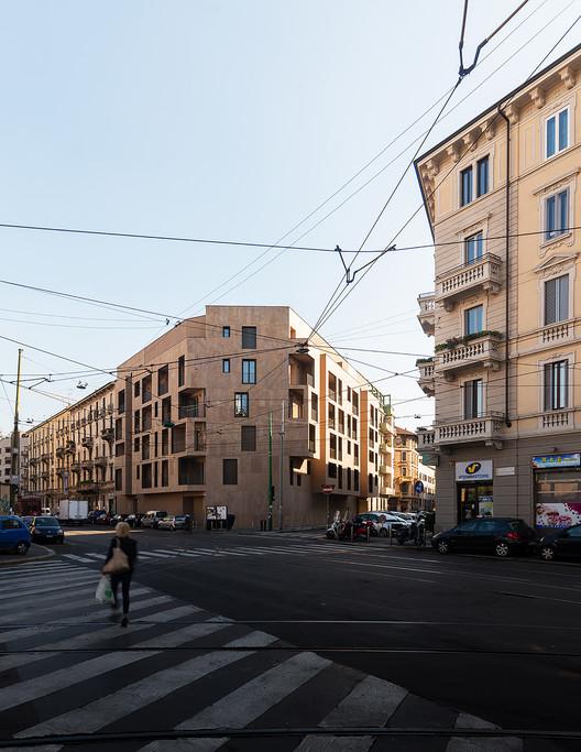 P17 Vivienda Colectiva en Milán / Modourbano, © Simone Bossi