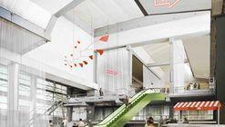 Factory Garden, primer lugar ex aequo en rehabilitación de fábrica CLESA en Madrid