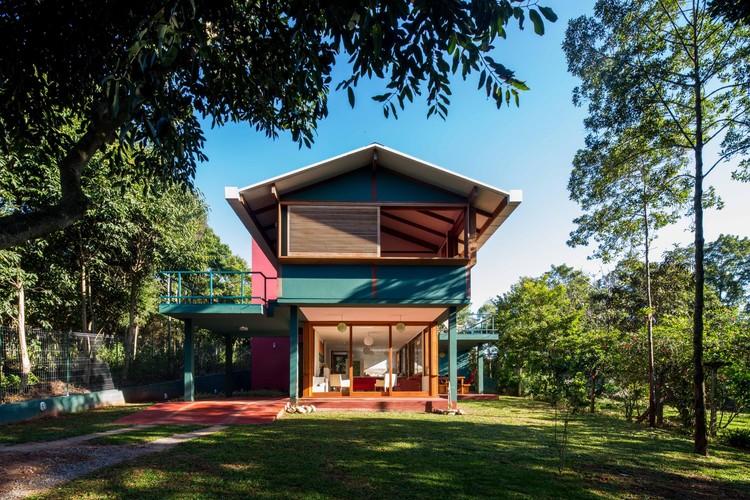 Residência em Florianópolis / André Vainer Arquitetos, © Pedro Napolitano Prata