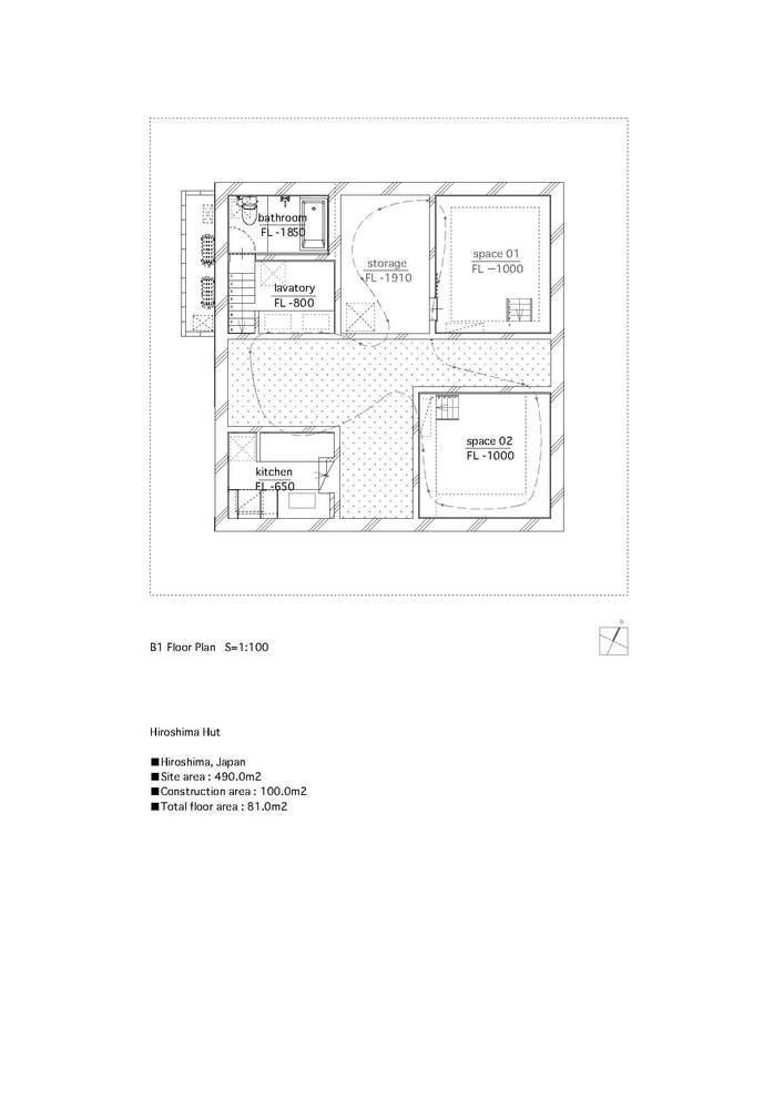 Gallery of Hiroshima Hut / Suppose Design Office - 12