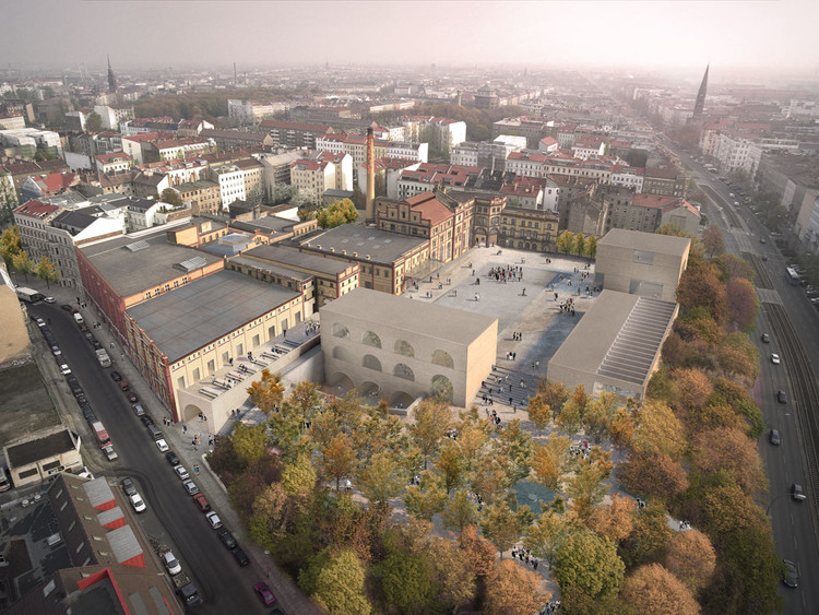David Chipperfield encargado para restaurar la cervecería Bötzow de Berlín, © Reindeer Renderings para David Chipperfield Architects