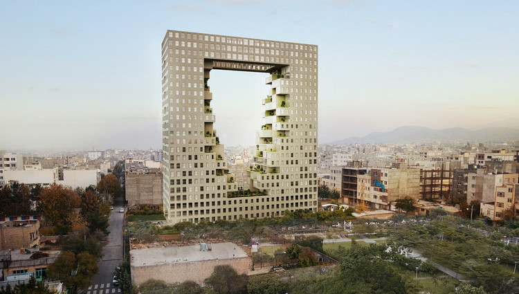 ZAAD and Challenge Studio Propose New Tower for Iranian City of Mashhad, © ZAAD Studio; Challenge Studio