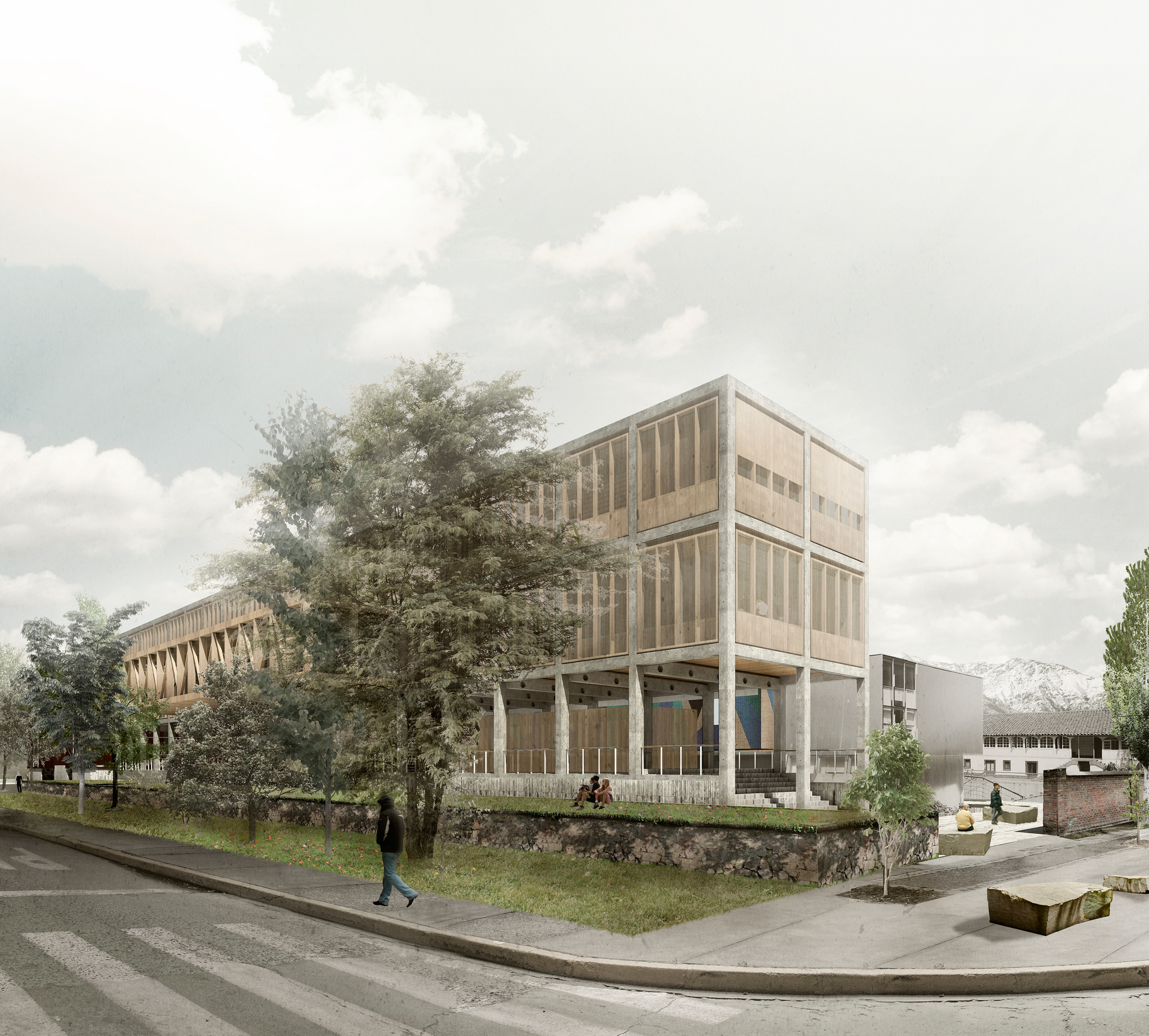 Guillermo hevia garc a nicol s urz a soler tercer lugar for Universidades para arquitectura