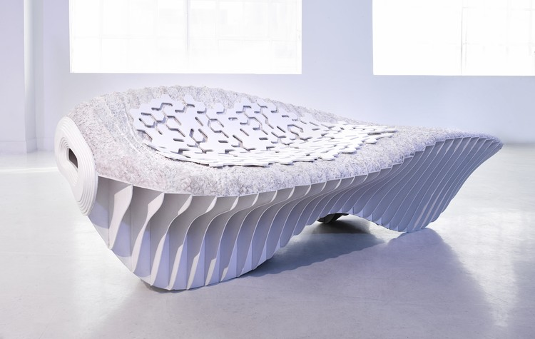 Terreform ONE's Biological Benches Question Traditional Manufacturing Methods, Courtesy of Terreform ONE