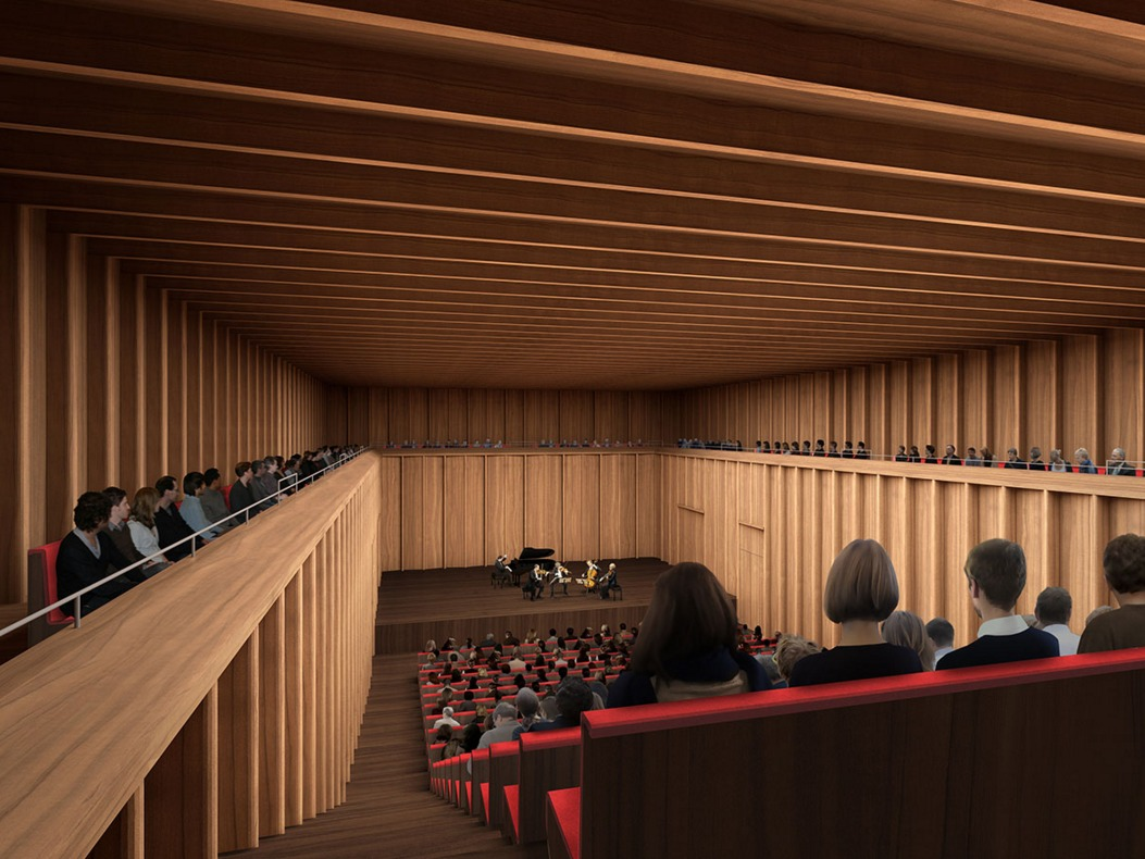 Gallery Of David Chipperfield Designs German Concert Hall 5