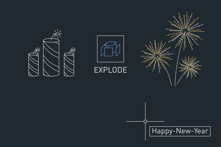 Happy New Year to Our Readers!, Submitted by BRTO Studio for our 2015 Holiday Card Contest