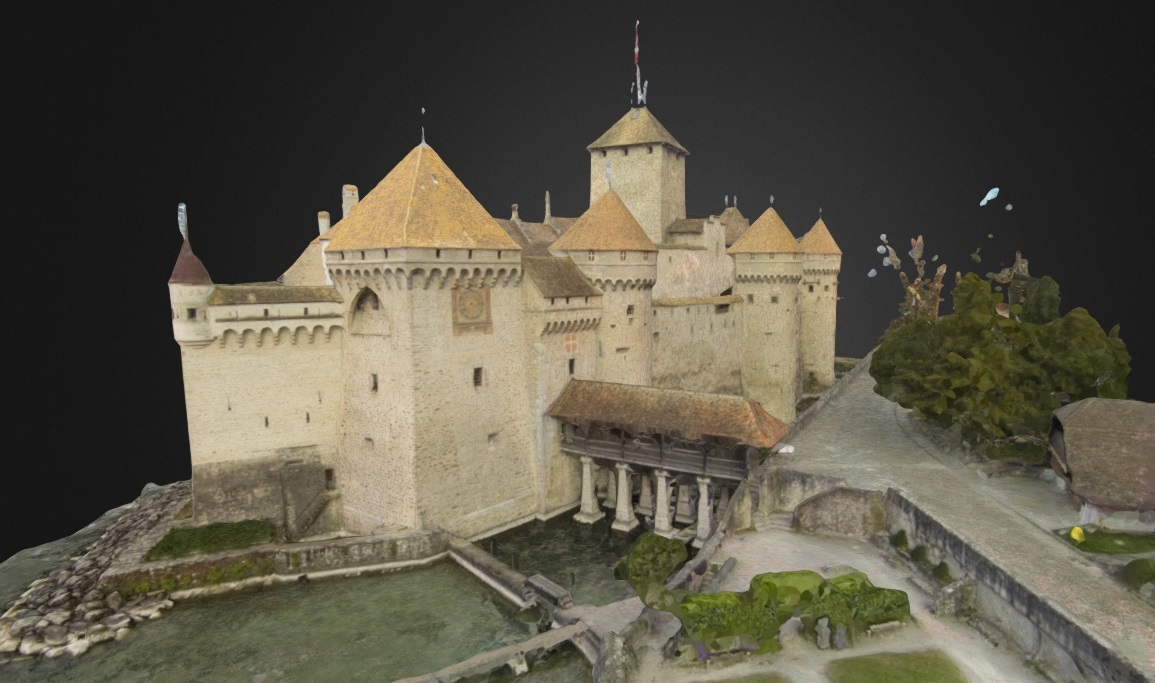 Drones and Rendering: How Aerial Photogrammetry Adds Existing Topography  into Visualizations