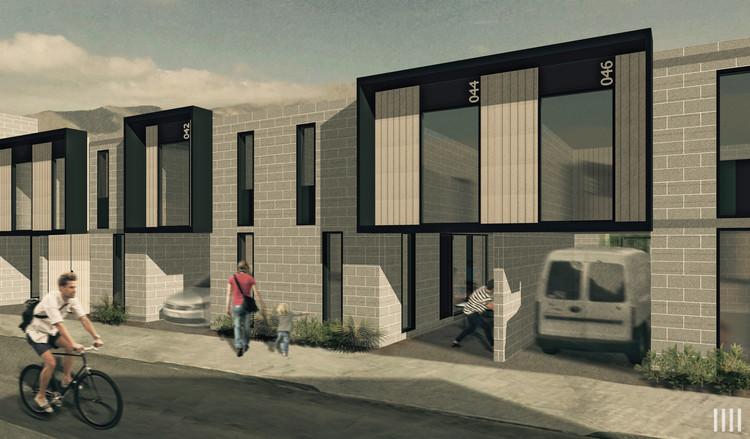 PARALELA, primer lugar profesional en el nuevo plan maestro urbano habitacional en Alto Hospicio, Cortesía de PARALELA