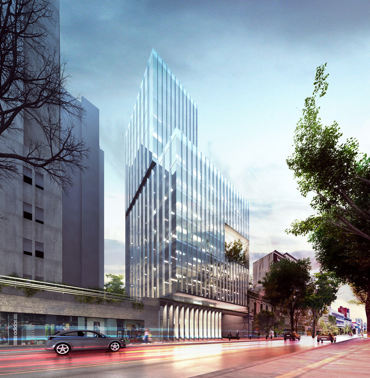 Presentan en Argentina el diseño del nuevo edificio ministerial bonaerense de Economía, Cortesía de Equipo Primer Lugar