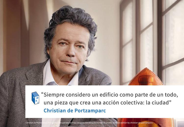 Frases: Christian de Portzamparc y la ciudad