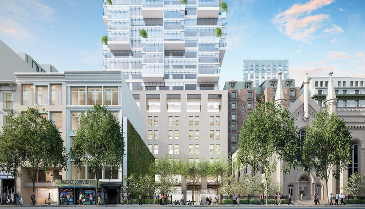 A Day in the Life with Moshe Safdie, Moshe Safdie's First New York Project. Image © Safdie Architects