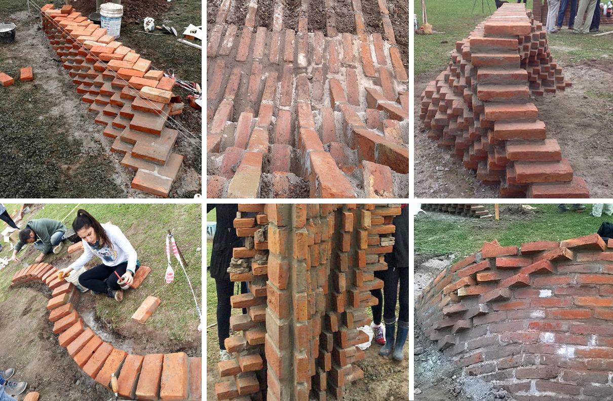 Do digital ao construído: oficina de experimentação com tijolo em Rosario