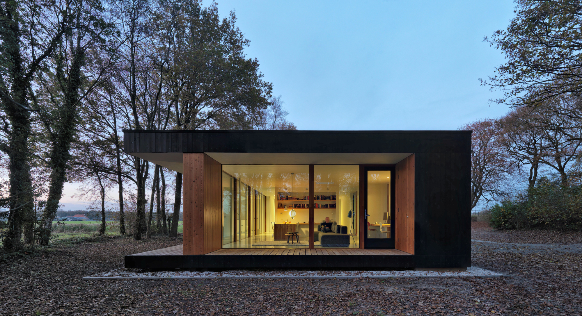 1 Makkinga Michel Kievits - View Small House Design Archdaily Pictures