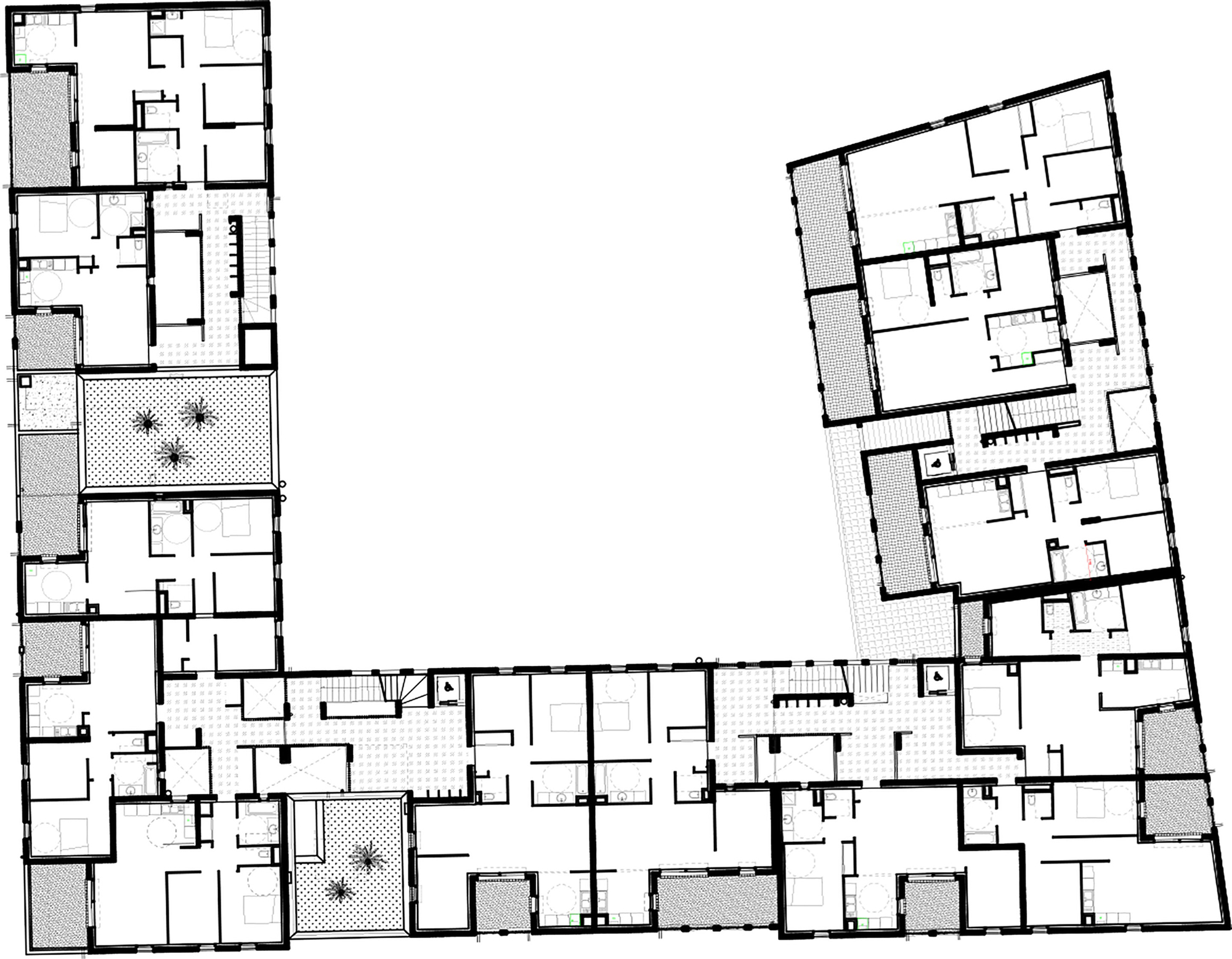 Case Study House Plans Gallery Of 58 Social Housing In Antibes Atelier Pirollet