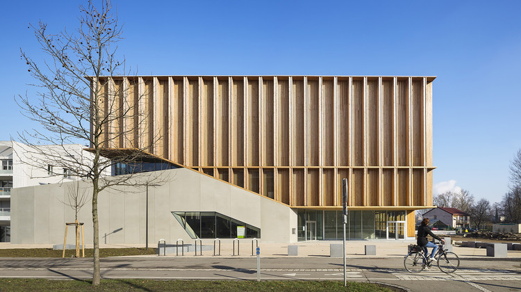 Sports Center in Neudorf / Atelier Zündel Cristea, © Sergio Grazia