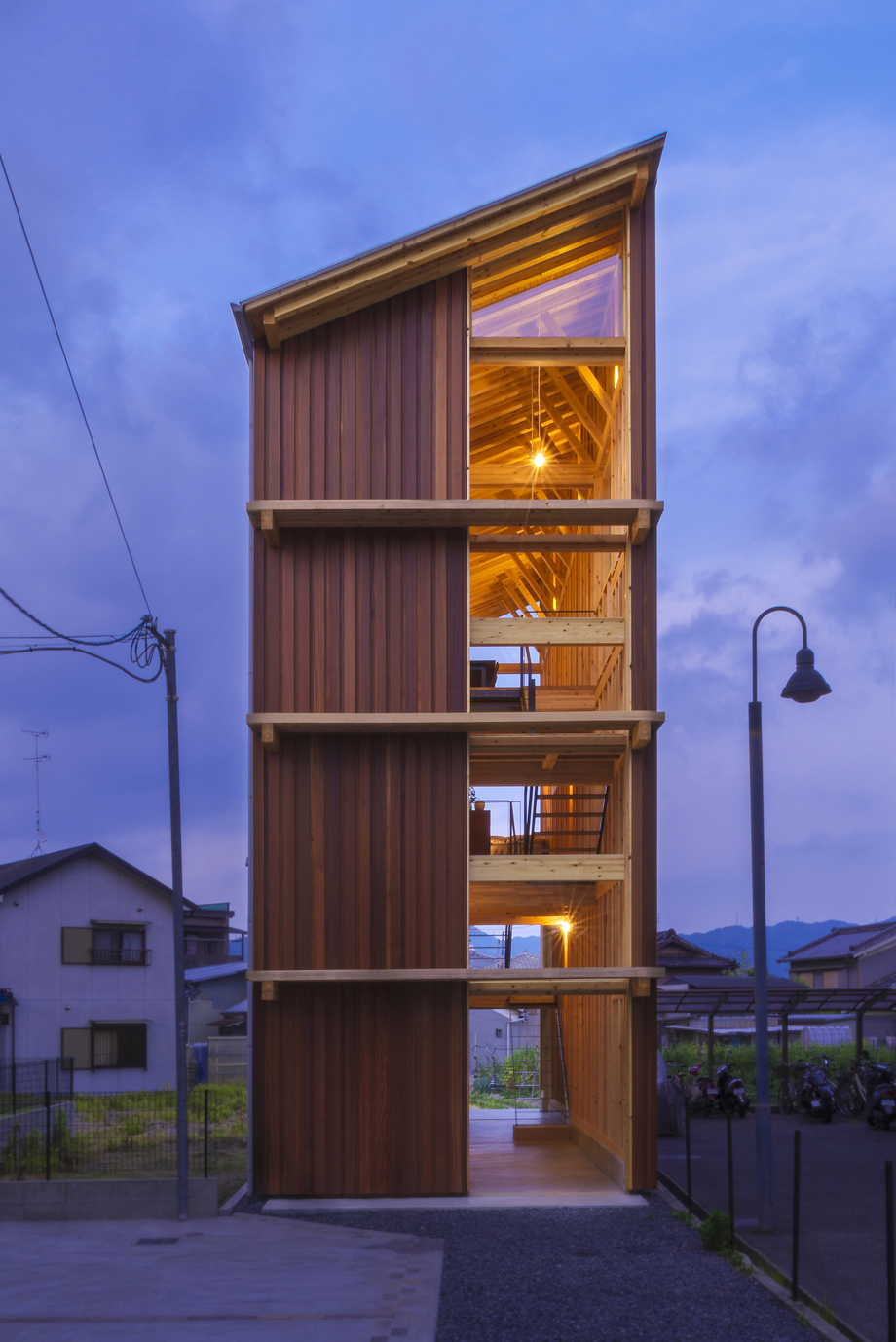 House For Pottery Festival Office For Environment Architecture Archdaily