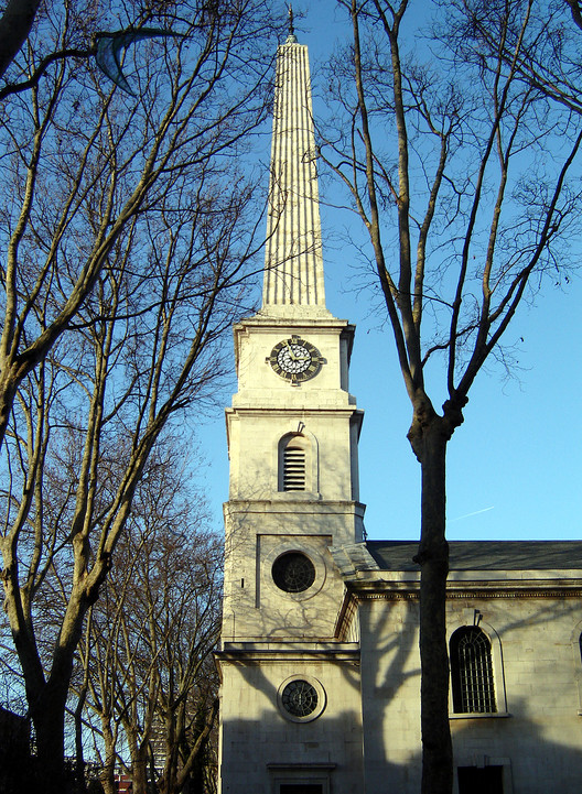 5 Teams Shortlisted to Redevelop St Luke's Area in Islington, St Luke's Church. Image © Flickr CC User Fin Fahey