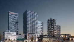 COBE Designs Masterplan for New Urban Center in Berlin