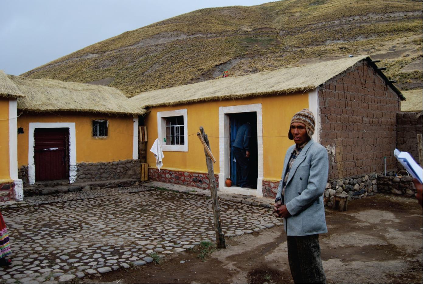 Galer a de programa de vivienda rural en sibayo per for Vivienda arquitectura