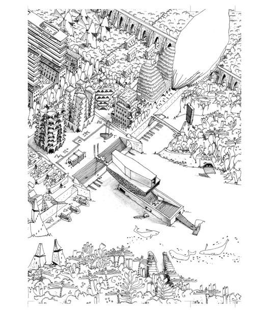 Lo mejor en representación de Arquitectura, Cortesía de Guillaume Ramillien Architecture