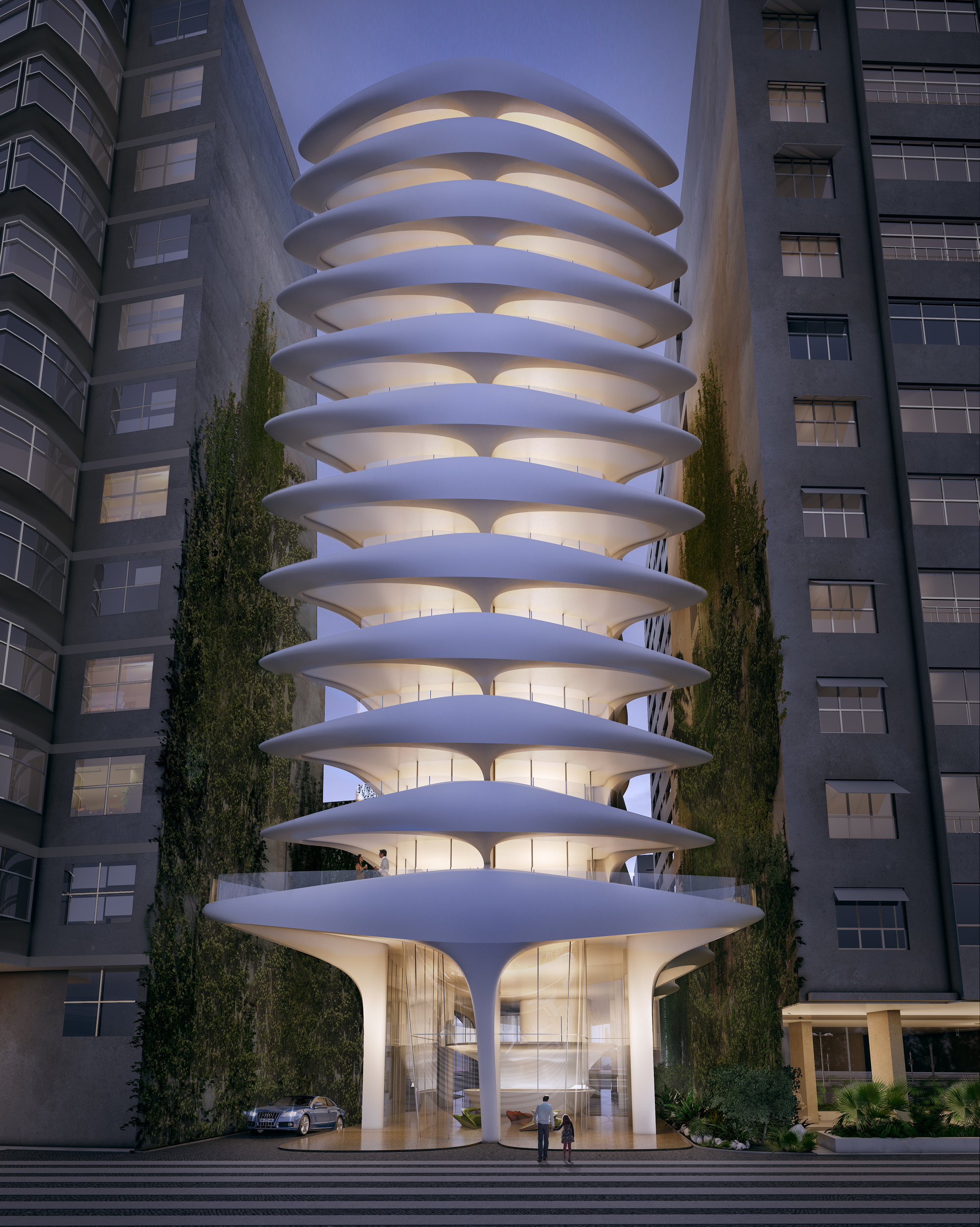 Zaha hadid prepares to break ground on first project in Rio design hotel