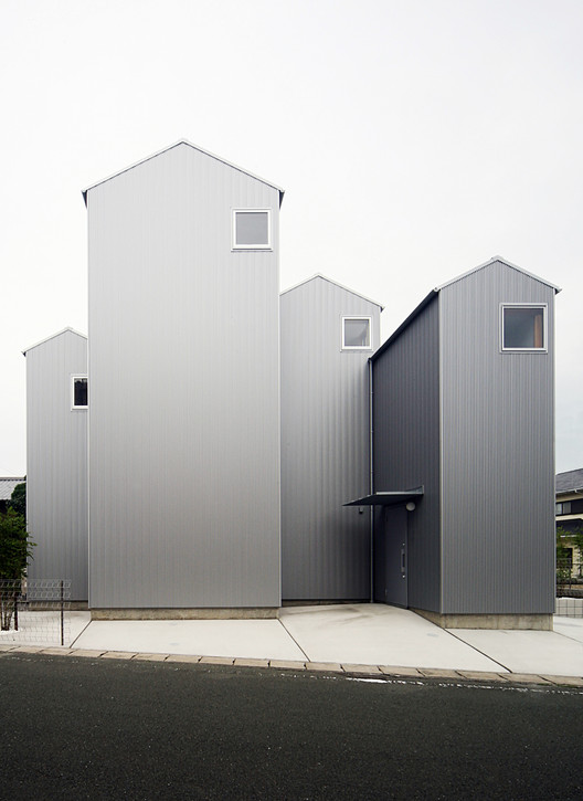 House in Kosai / Shuhei Goto Architects, Courtesy of Shuhei Goto Architects