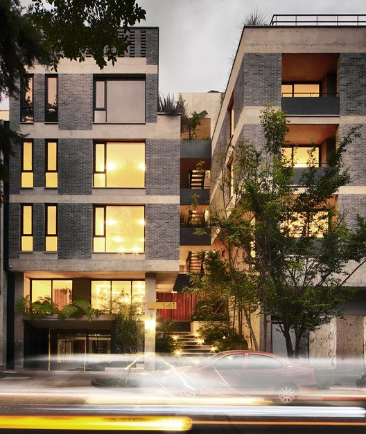 Apartamentos L_61 / MMX + Olga Romano, © Yoshihiro Koitani