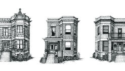 Cape Horn Illustration Creates Detailed Ink Drawings of Chicago Residences