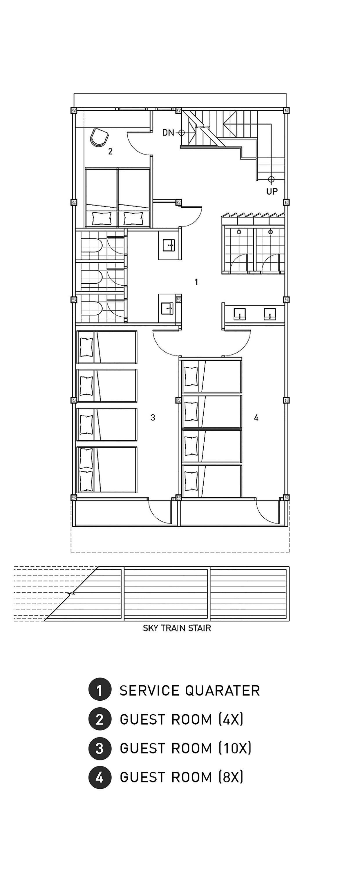 Hotel Room Floor Plan: Gallery Of Adventure Hostel / Integrated Design Office