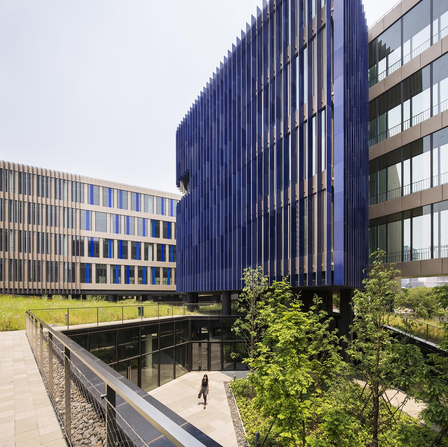 Yidian Office Complex / Jacques Ferrier Architecture ...
