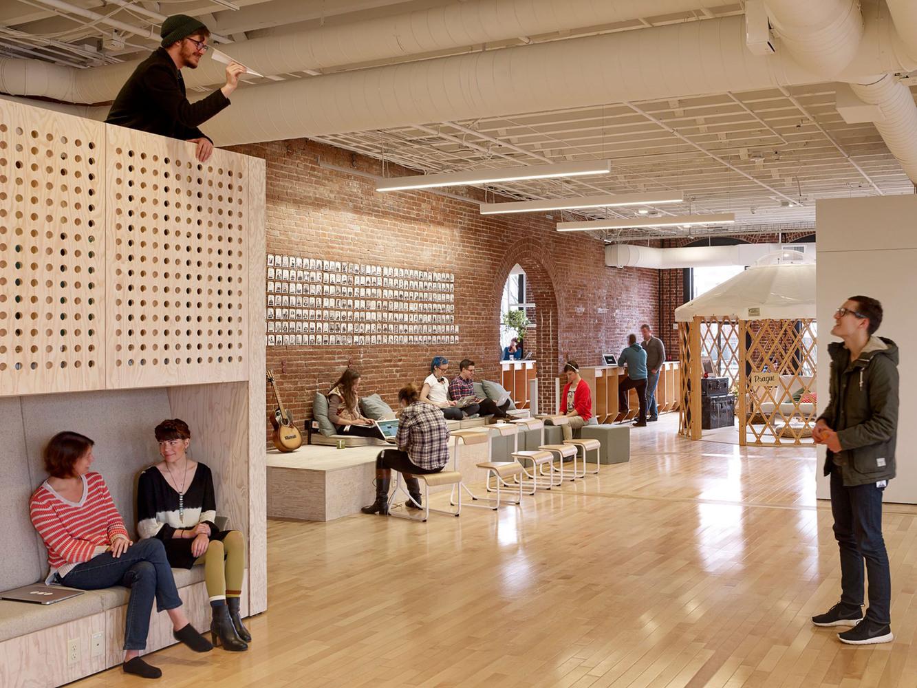Gallery of airbnb cx hub bora architects