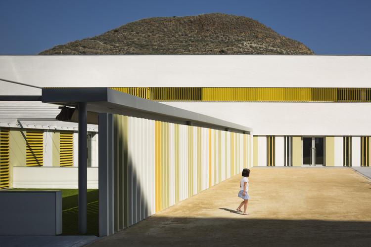 Nuevo Colegio Simón Fuentes / Suárez Corchete + García Bueno Arquitectos, © Fernando Alda