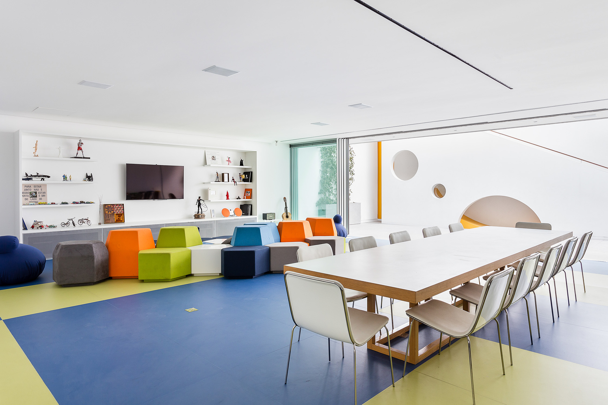 Galeria de brinquedoteca pascali semerdjian arquitetos 7 - Maison insolite la toy house par pascali semerdjian architects ...
