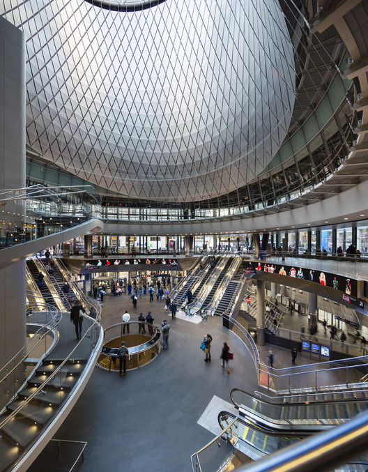 Fulton Center / Grimshaw, Courtesy of James Ewing