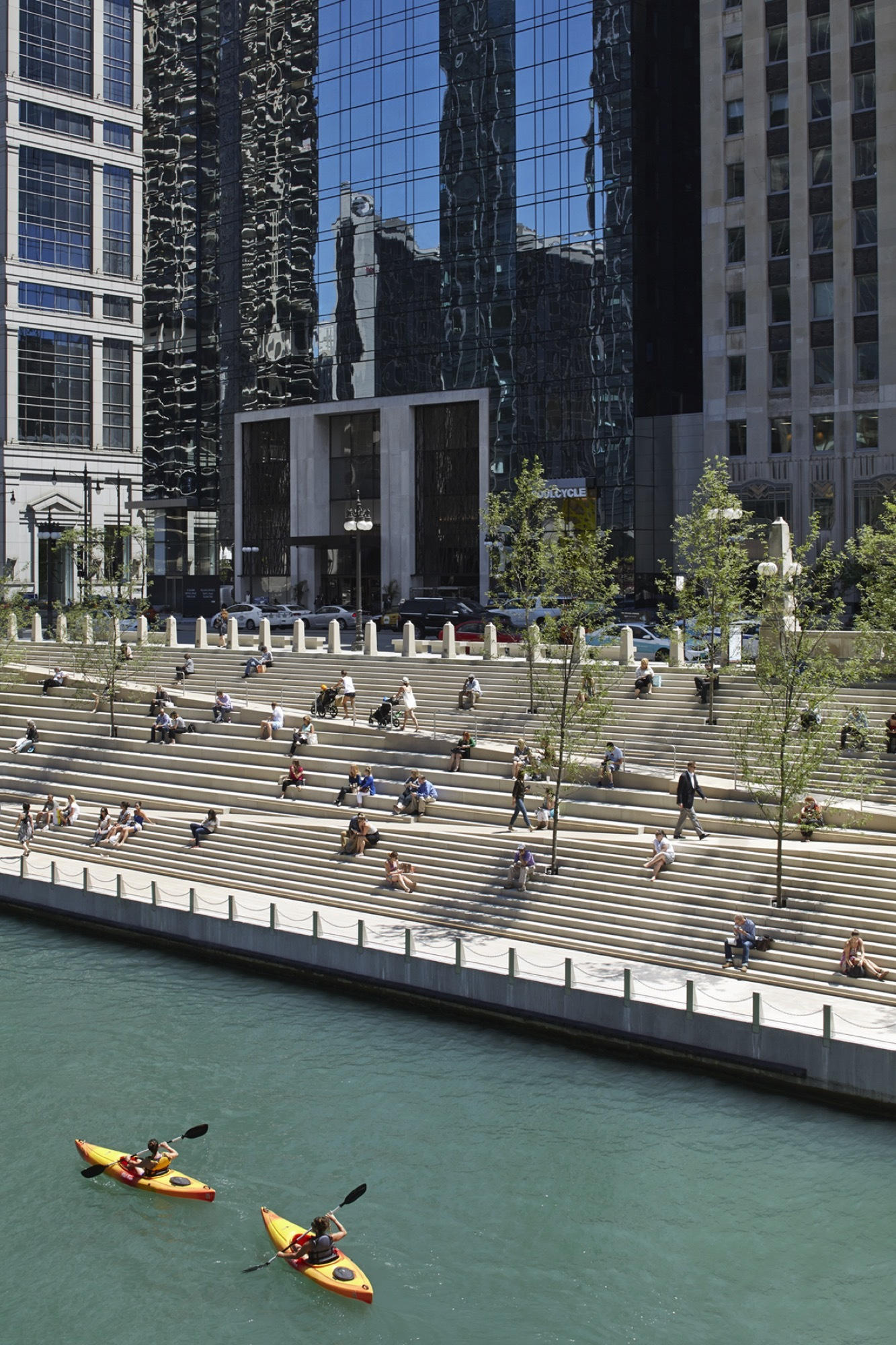 Gallery Of Chicago Riverwalk    Chicago Department Of