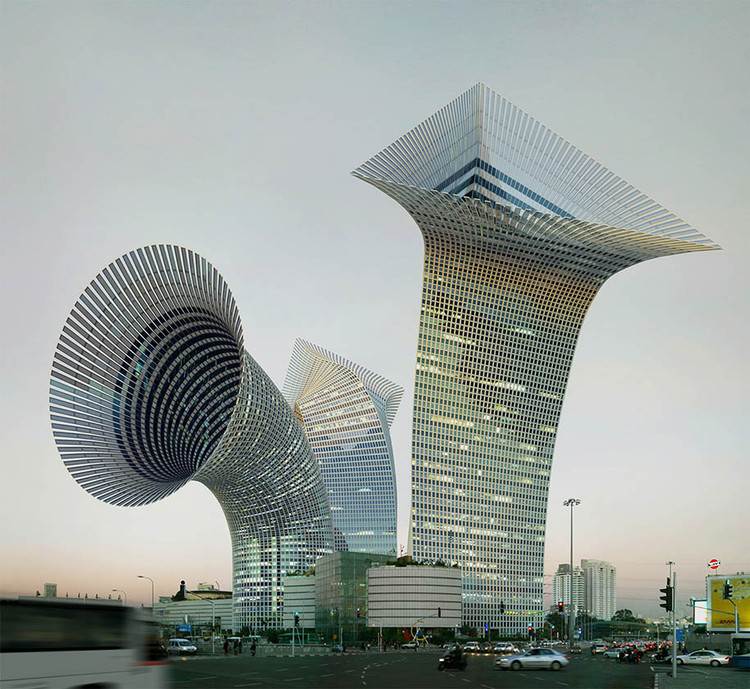 Victor Enrich Transforms Architectural Images Into Optical Illusions |  ArchDaily