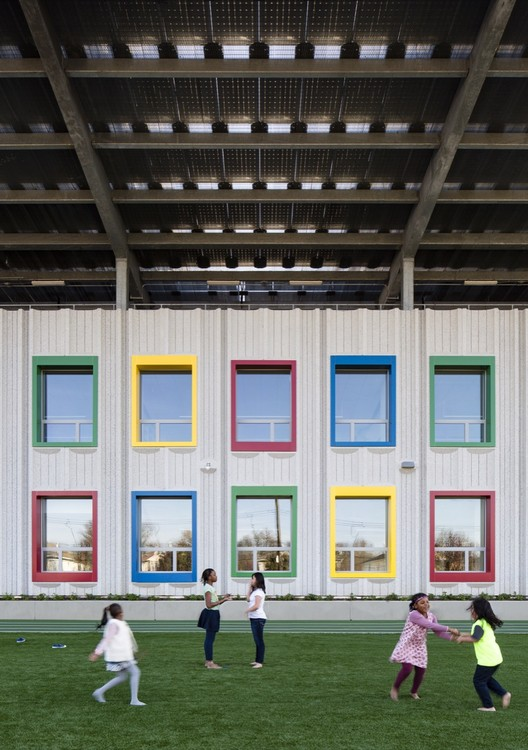 The Kathleen Grimm School for Leadership and Sustainability at Sandy Ground / SOM, © James Ewing - OTTO