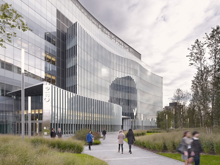 CUNY Advanced Science Research Center / Flad Architects + KPF, © Jeremy Bittermann